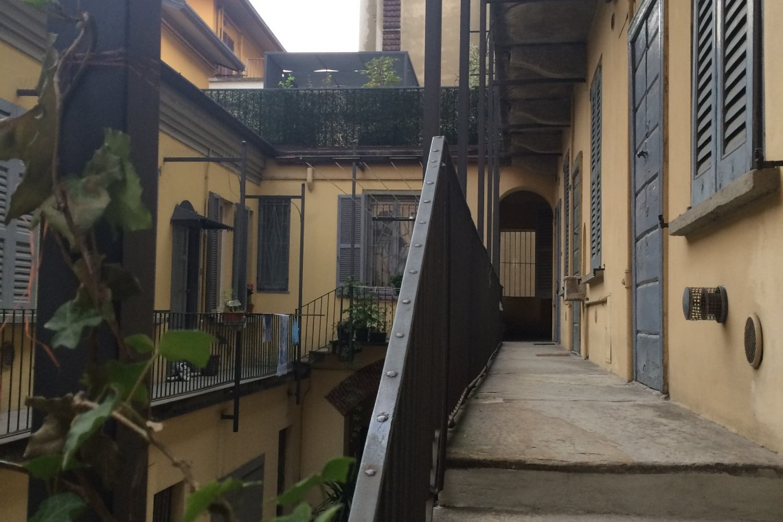Scala di accesso al terrazzo