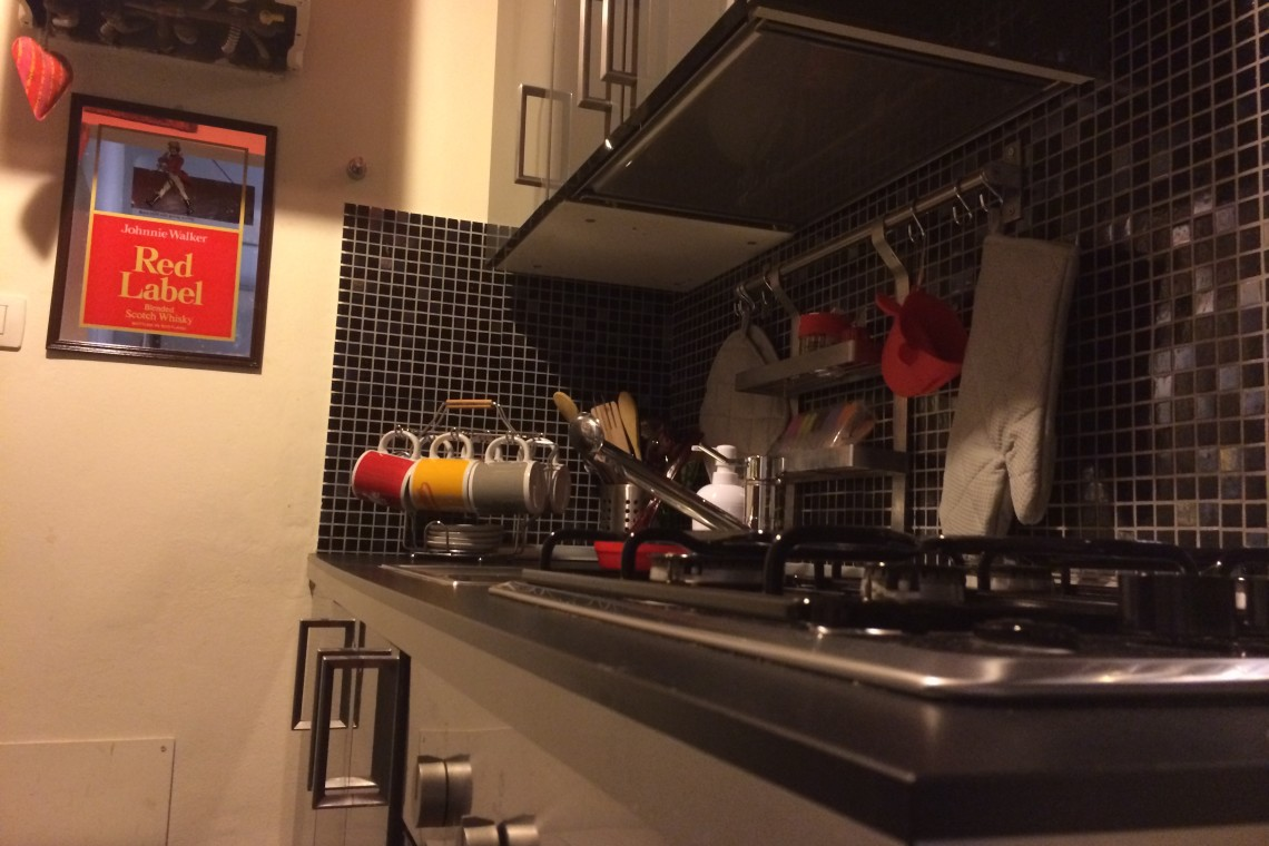 Cucina attrezzata (kitchnette fully equipped)